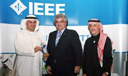 AAU at IEEE UAE Section Annual Meeting