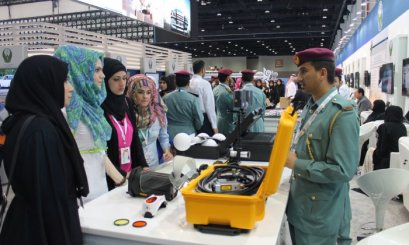 AAU participates in the International Exhibition for Security and National Resilience (ISNR)