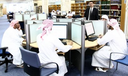 ‏‏AAU Students' Visit to Zayed Library in Al Ain