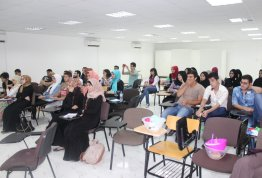 Abu Dhabi science fair training in AAU -Alain campus-