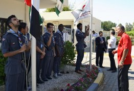 UAE Flag Day at Al Ain Campus