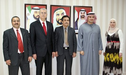 AAU Receives Jordanian Accreditation Committee