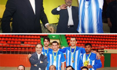 AAU Staff Football Cup Goes to Abu Dhabi Administrative Team