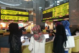 Students visit to Abu Dhabi Securities Exchange (Business Collage/ AD Campus)
