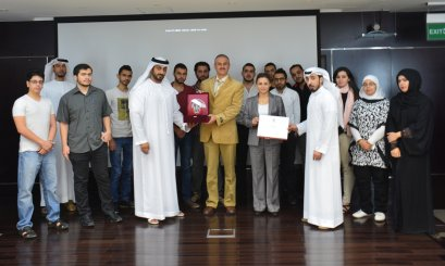 Al Ain University Participates in a Workshop about 'Statistics'