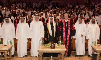 Fostering Al Ain University's Graduation Ceremony  Nahyan bin Mubarak: 'We are following the path of Mohammed bin Zayed that man is the wealth of a great nation.'