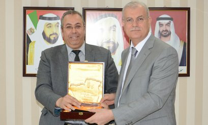AAU President Greeted the University President of Yahia Fares Algeria