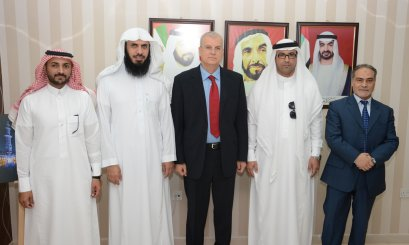 A Delegation from King Faisal University visits Al Ain University