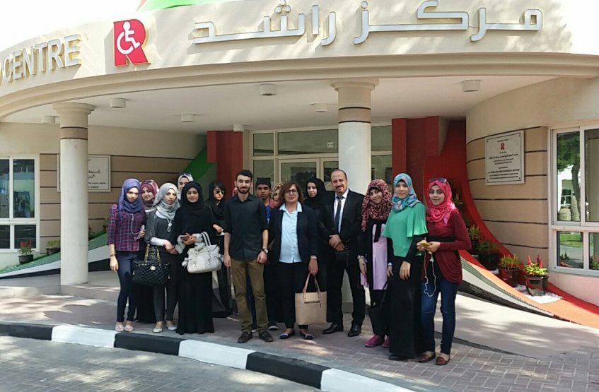 Students from Special Needs Program (Al Ain Campus) visited Rashid Centre for the Disabled in Dubai