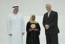 Al Ain University honors employees who have completed ten years in service of the university