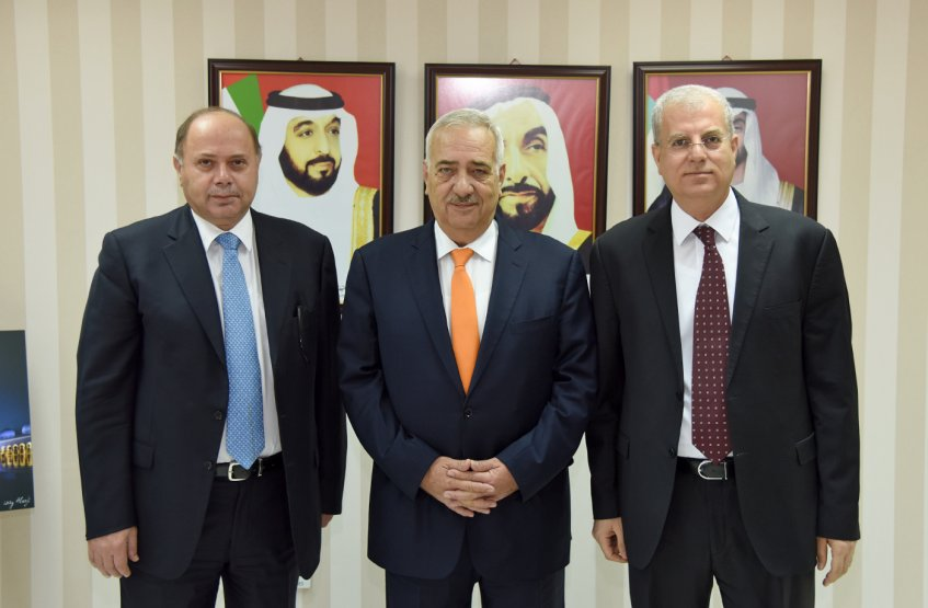A delegation from the Hashemite Kingdom of Jordan, hosted by the AAU President