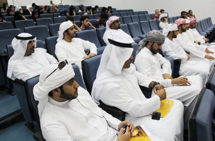 Story Telling On the Occasion of Year of Reading - Al Ain Campus