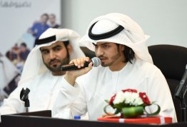"Poetry Night entitled ""Loyalty ,, for Emirates Tender""."