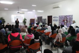 "Workshop entitled ""Reading and Writing Skills"" at Ashbal Alquds School - AD Campus"