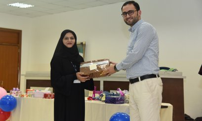 "The HR Unit at AAU organized ""Gifts Sharing Event"""