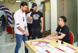 "AAU organizes Health Event on the occasion of ""World Sight Day"""