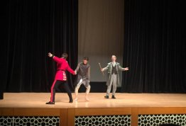 Trip to William Shakespeare's The Tempest Play at Abu Dhabi National Theater - Al Ain Campus