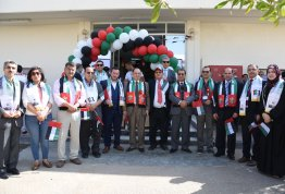 AlAin University, Al Ain, Abu Dhabi, AAU, flag day, UAE