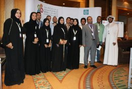 The participation of the College of Communication and Media Students at Al Ain Media and Marketing Forum