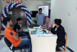 Event on the occasion of Lungs Cancer Awareness Month - Al Ain Campus