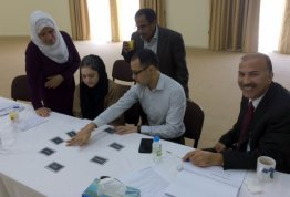 "A workshop entitled ""Training of Trainers"""