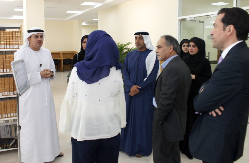 The visit of Statistics Center delegation to AAU
