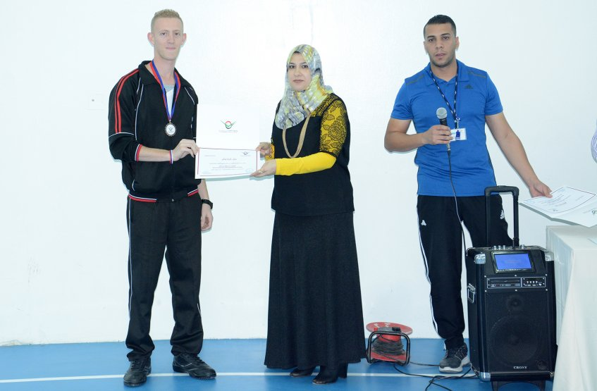 A Coronation for the Winners in Basketball Championship and Fitness Championships