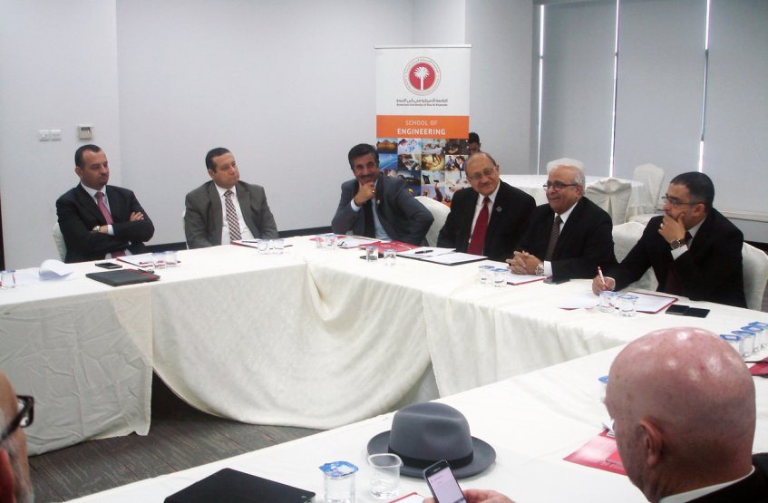 The College of Engineering in AAU attended the UAE Engineering Deans Council Meeting