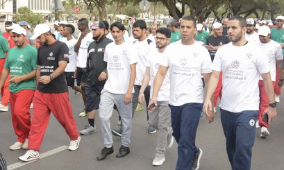 Efficient Participation from AAU in UAE National Sports Day