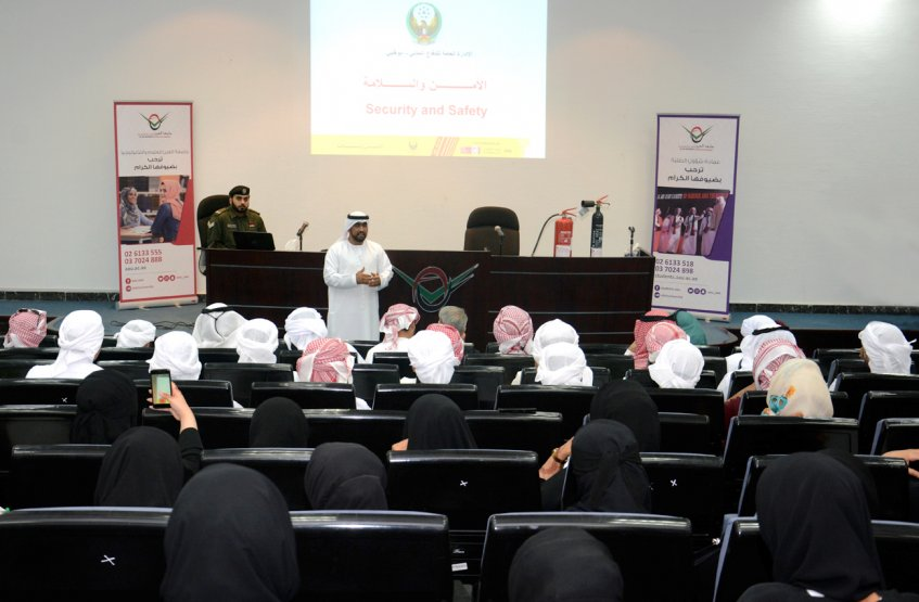 "Awareness lecture about ""Fire protection"" in AAU"