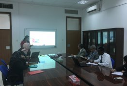 Presentation on Scientific Resources for Law Programs at AAU