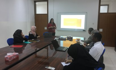 Presentation on Scientific Resources for Law Programs organized by Khalifa Library