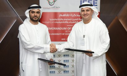 Al Ain University signs an MOU with IEEE (UAE Section)