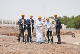 AAU starts to develop its campus in Al Ain