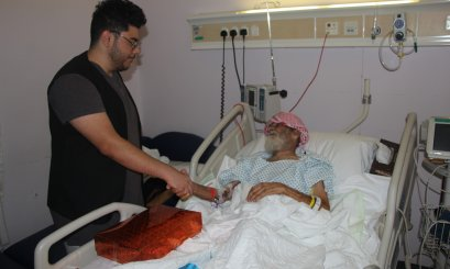 A Visit to meet the elderly patients on the World Elderly Day