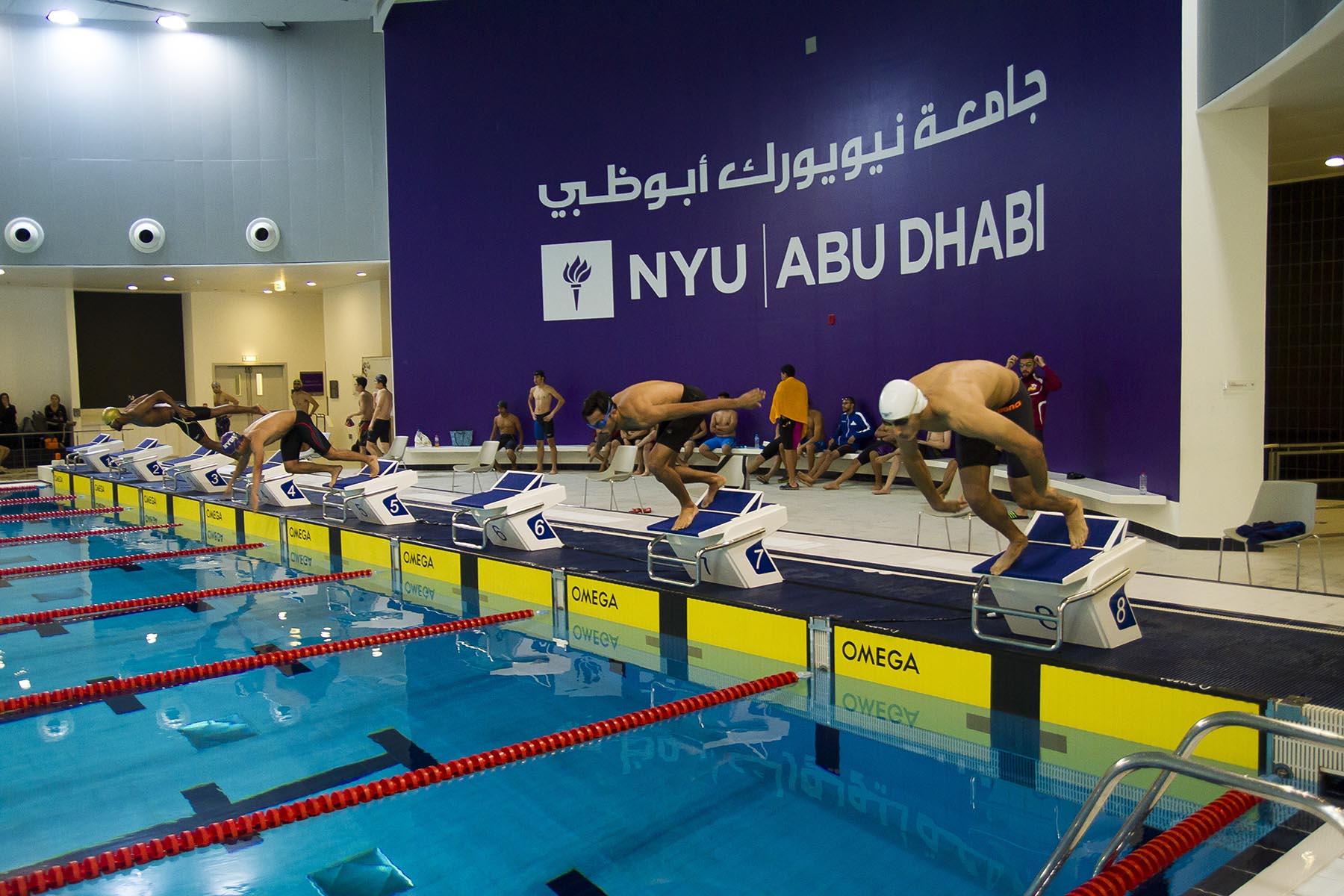 Swimming Championship at NYU Abu Dhabi