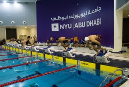 Swimming Championship at NYU Abu Dhabi