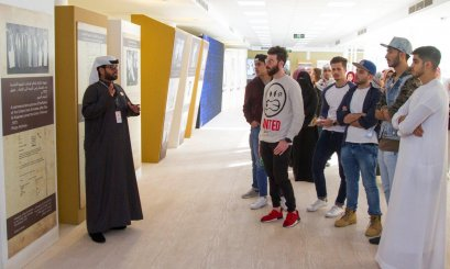 "AAU Students visit ""Zayed Heritage Festival"""