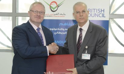 AAU and the British Council Signs an MOU