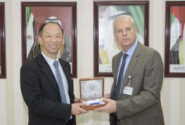A Taiwanese delegation visit AAU
