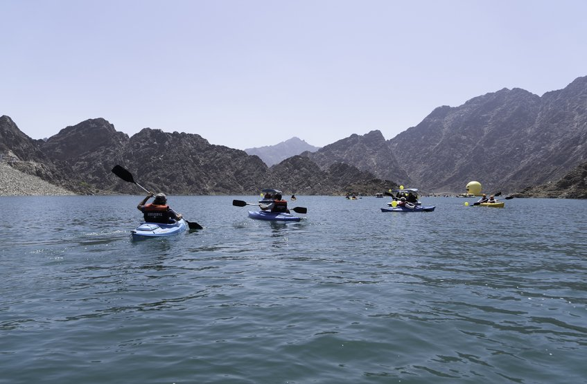 AAU Students Visit Fujairah City