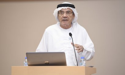 AAU hosted HE Zaki Nusseibeh to talk about Sheikh Zayed