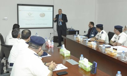 A delegation from AD Traffic had a look at a project about using phones while driving