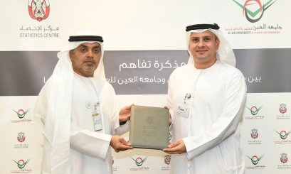 AAU Signs an MOU With the Statistics Center Abu Dhabi