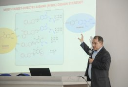 A Lecture entitled Multi-Target Drugs for Al Zheimer's Disease
