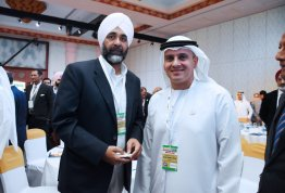 AAU Chancellor participation in India-UAE Summit
