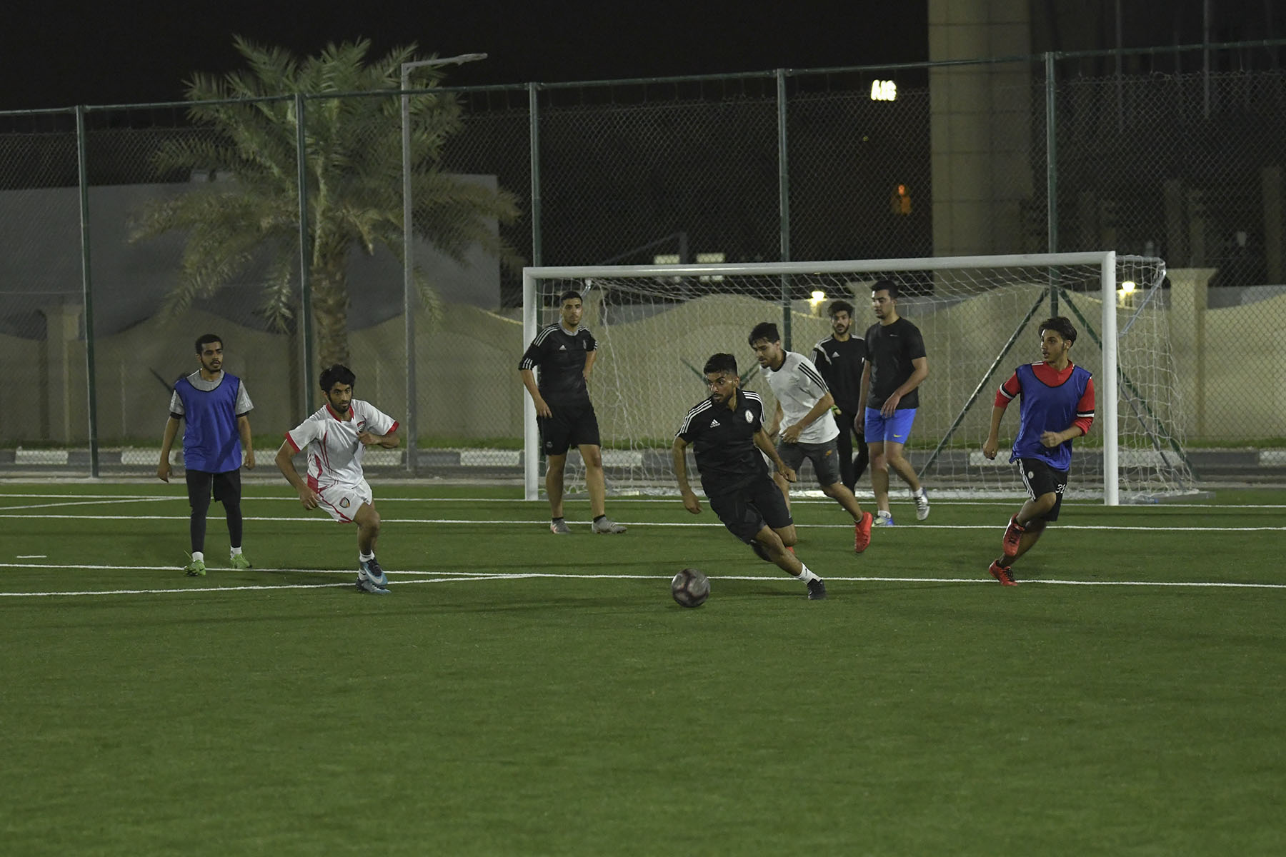 Real Madrid vs Law Students Semi Final Match