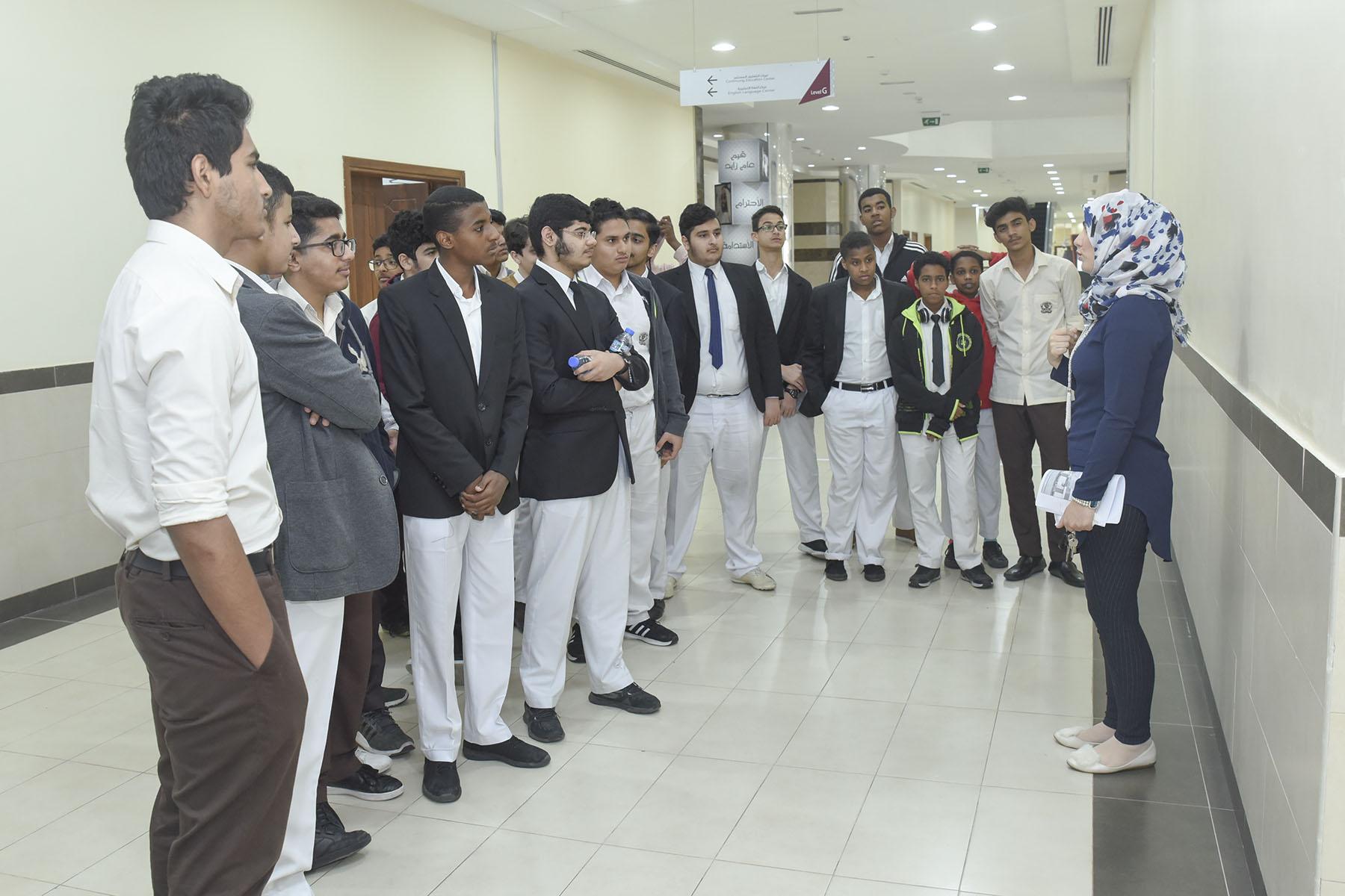 اليوم السابع (مدرسة دار العلوم الخاصة-بني ياس ضد المدرسة الإسلامية الإنجليزية)