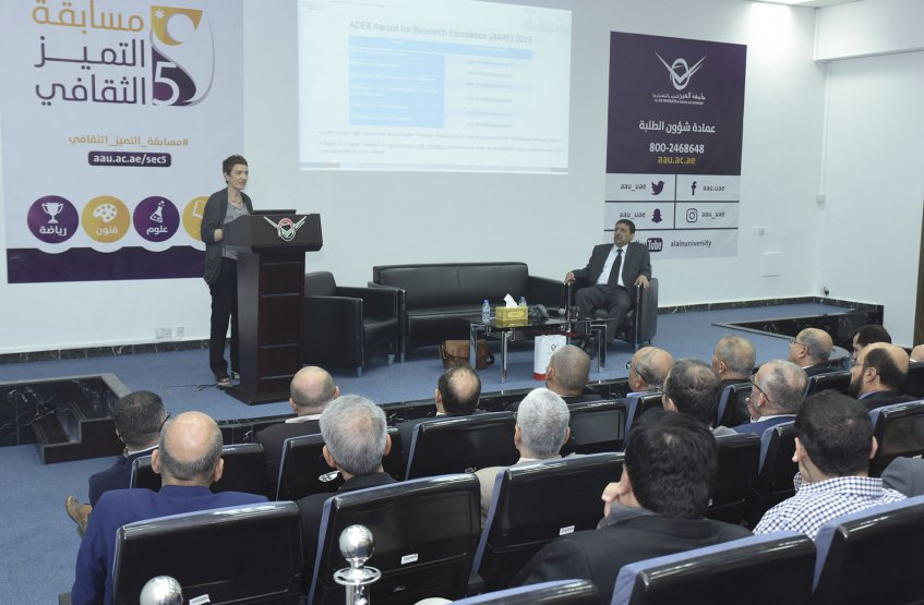 A Seminar on ADEK Award for Research Excellence