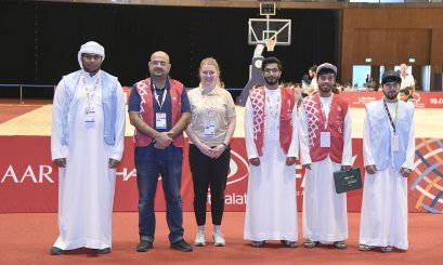 A distinctive participation AAU in the Special Olympics